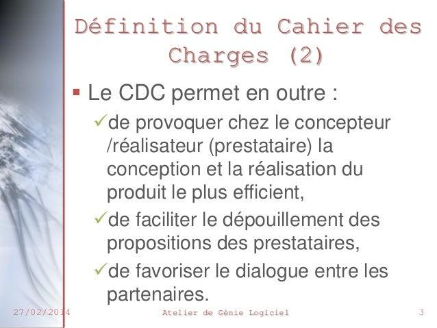 Chp2 cahier des charges - Definition de cahier de charge ...