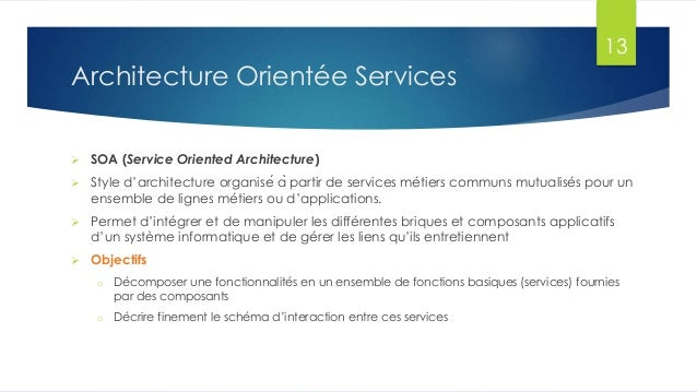 Chp2 soa for Architecture orientee service