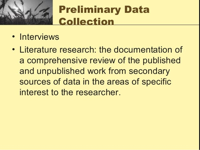 the critical literature review ppt uma sekaran