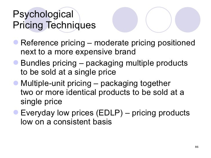 Chp 4 Pricing Considerations