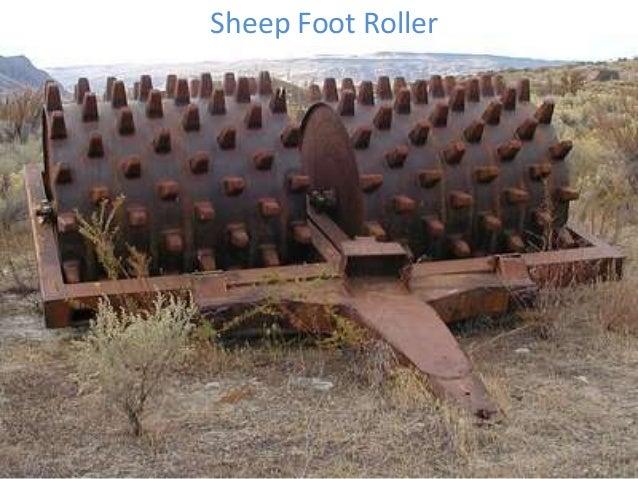 Sheep Foot Roller
