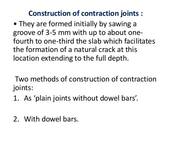 JOINT SEALER Top portion of gap at expansion joint above the joint filler is sealed to prevent entry of water and grit int...