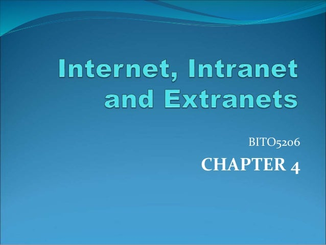 BITO5206  CHAPTER 4