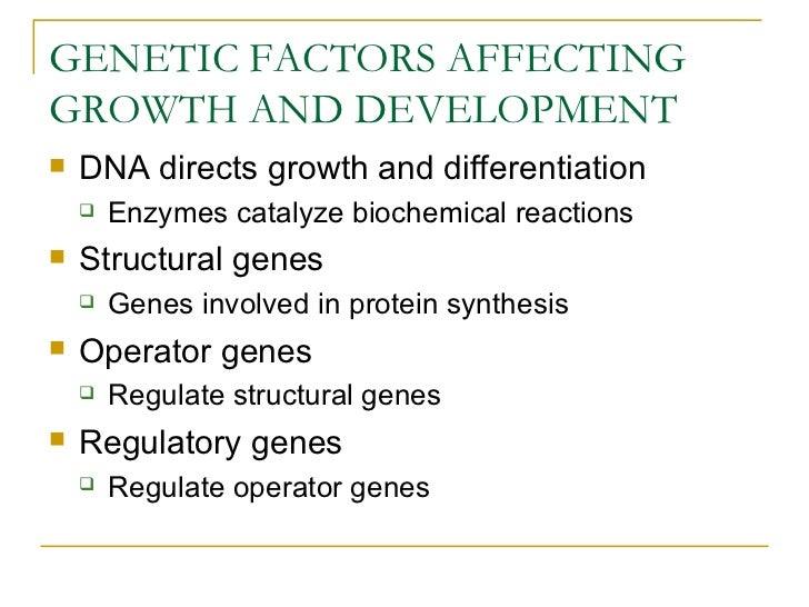 Genetic and development