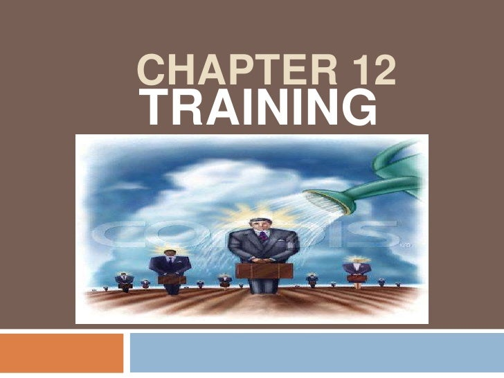 CHapTER 12<br />TRAINING<br />
