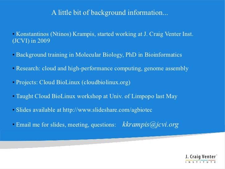 CHPC Workshop Morning Session Slide 3