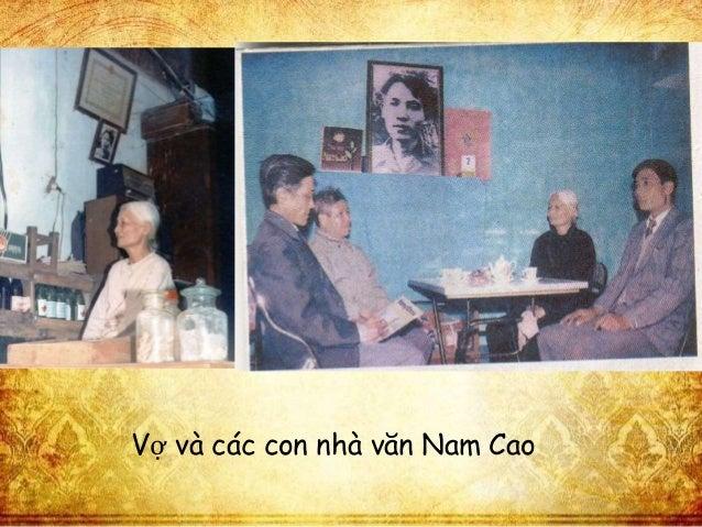 Vợ và các con nhà văn Nam Cao