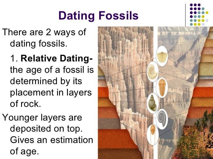 what is the two ways of dating fossils just started dating how to keep him interested