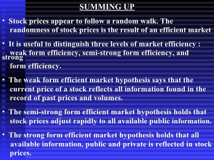 a report on the internet related stock market and the importance of efficient market hypothesis emh  The global financial crisis and the efficient market hypothesis: what have we learned the efficient market hypothesis (emh) stock market, and other asset.