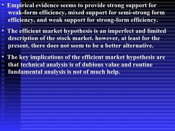 emh and the theory of efficiency markets The financial markets context 3 the efficient markets hypothesis (emh) the classic statements of the efficient markets hypothesis (or emh for short) are to be found in roberts (1967) and fama (1970.