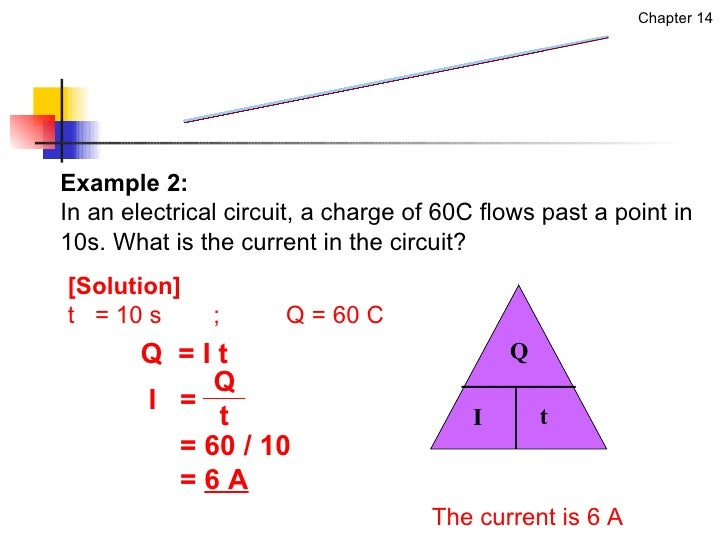 how to find current flow