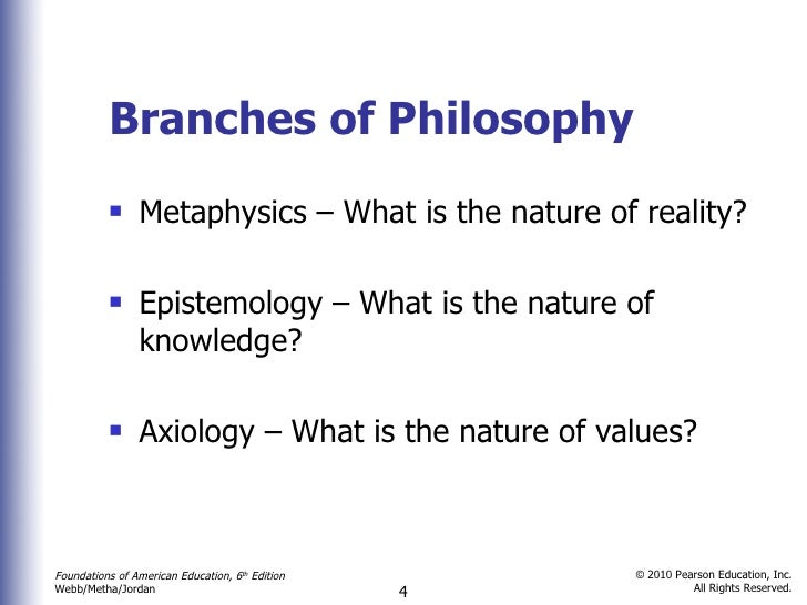 compare and contrast between metaphysics and epistemology