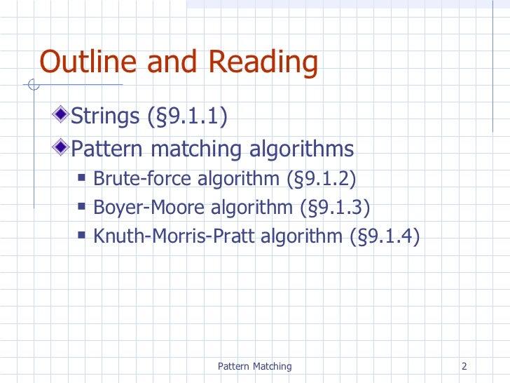 Chpt9 patternmatching