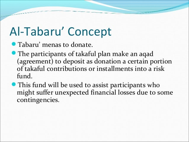 permissible risk in takaful The concept of takaful (islamic insurance), while still in its infancy in the uk and uncertainty (pure risk, namely an immeasurable form of hazard).