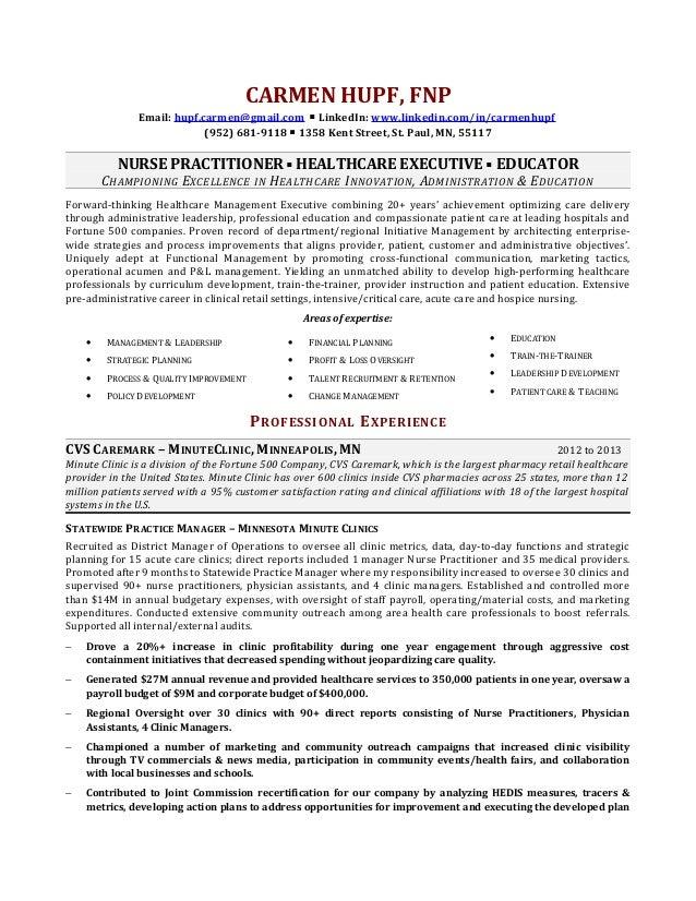 Personal Statement Nurse Practitioner Resume