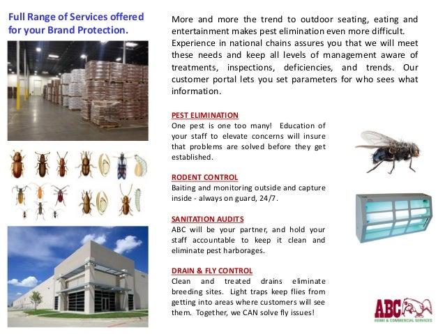 ABC Commercial Pest Servcies
