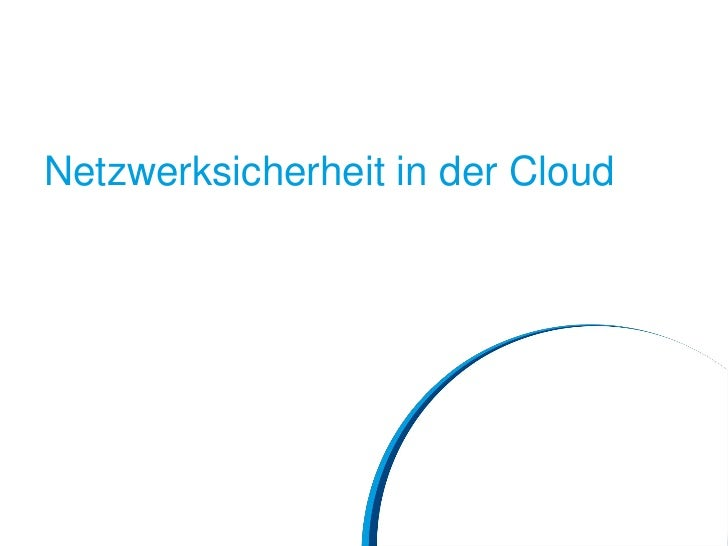 Netzwerksicherheit in der Cloud