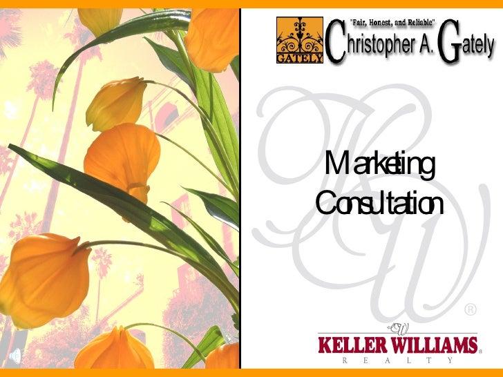 Marketing Consultation