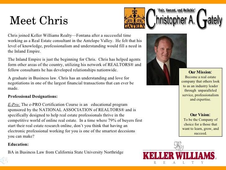 Chris Gately Listing Presentation