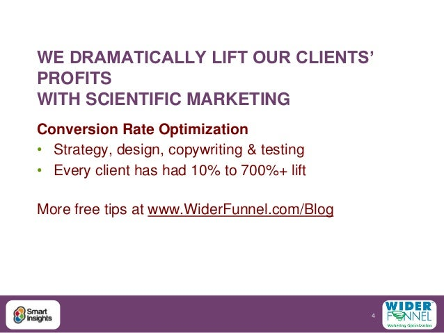 Www smart insights com strategy conversion optimisation
