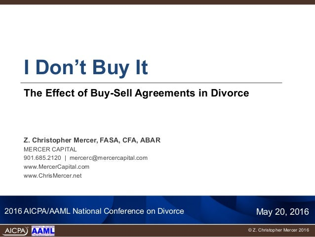 I dont buy it the effect of buy sell agreements in divorce platinumwayz