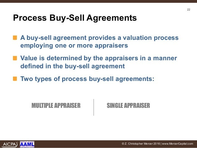 I Dont Buy It The Effect Of Buy Sell Agreements In Divorce