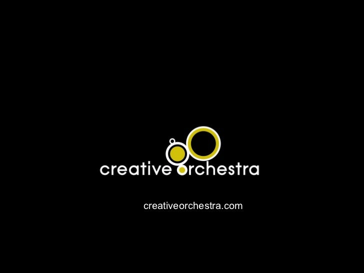 www. creativeorchestra.com Chris Arnold