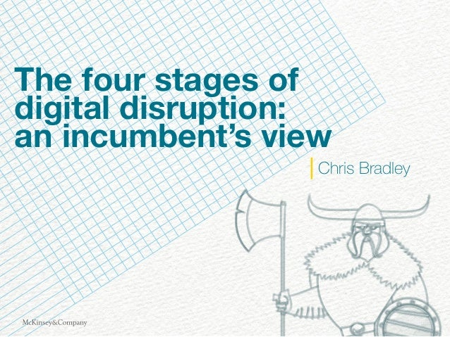 The four stages of digital disruption: an incumbent's view Chris Bradley