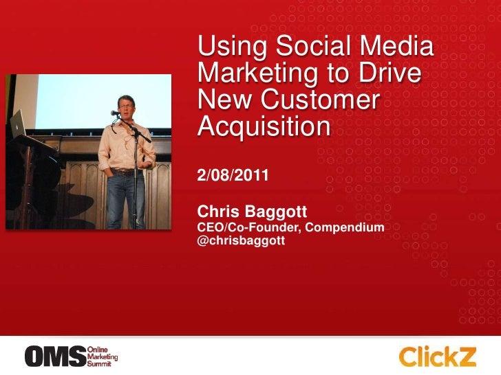 Chris Baggott's OMS Presentation (2011)