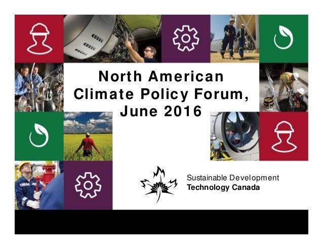 Sustainable Development Technology CanadaSustainable Development Technology Canada1 Sustainable Development Technology Can...