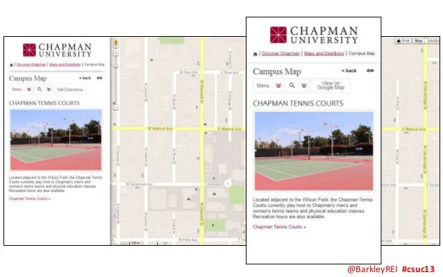 CSUC13 Video: Interactive Maps and Virtual Campus Tours on