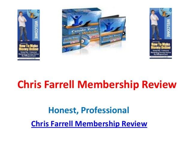 Chris Farrell Membership Review      Honest, Professional  Chris Farrell Membership Review