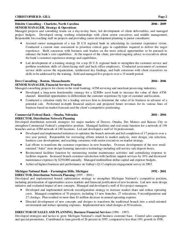 chris gill resume 05 2013