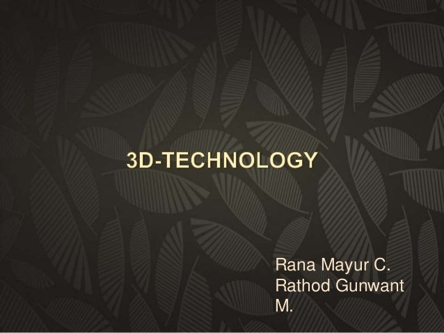 Rana Mayur C. Rathod Gunwant M.