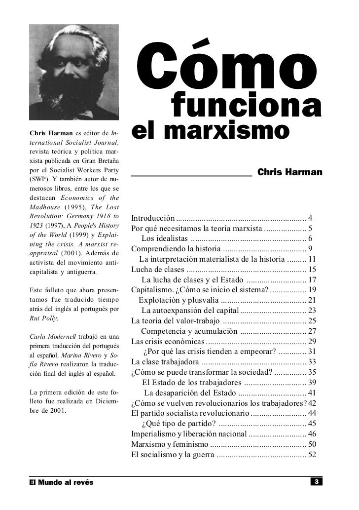 Chris Harman C 243 Mo Funciona El Marxismo 1979 border=