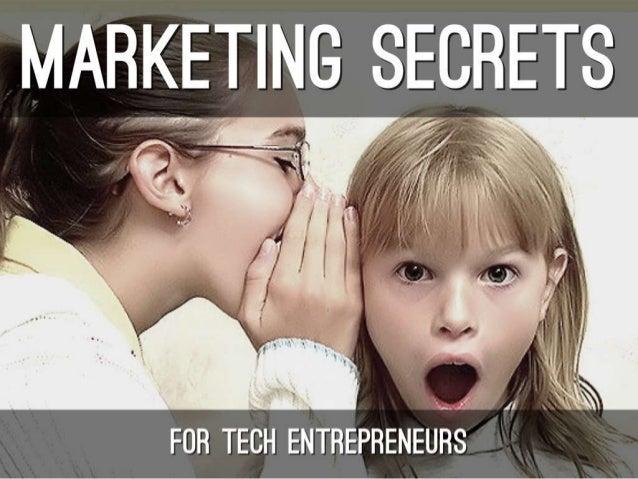 Chris Harvey Barcamp 2013 Marketing Secrets for Entrepreneurs