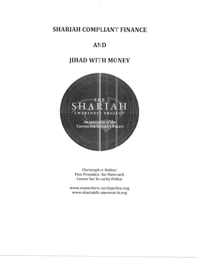 -------------------------------------- SHARIAH COMP ILI1.Nr rFINANCE AN'D   Christophi~r Holton   Vice Presideln.! for Out...