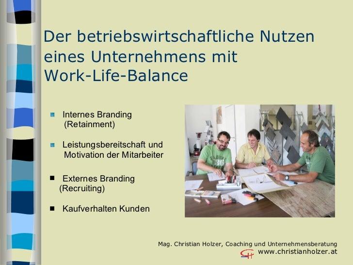 Chris Holzer, Wirtschaft und Kultur Slide 3