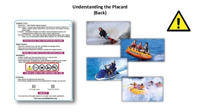 New Life Jacket Marketing & Labeling Requirements - A Picture is Worth a Thousand Words