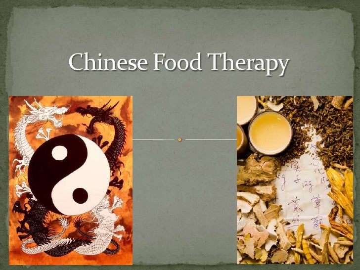 Chinese Food Therapy<br />
