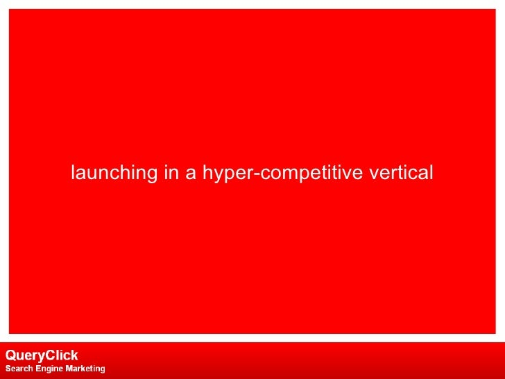 launching in a hyper-competitive vertical