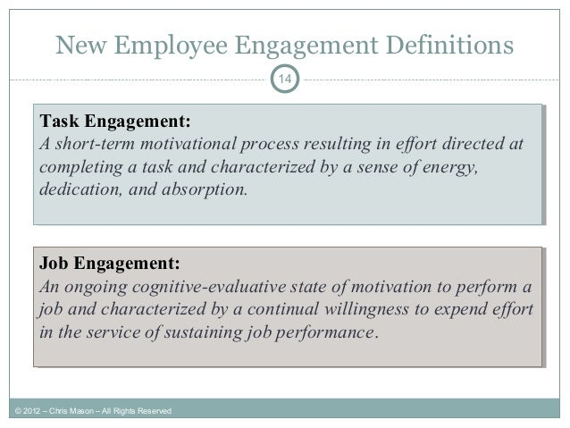 Dissertation report on employee engagement