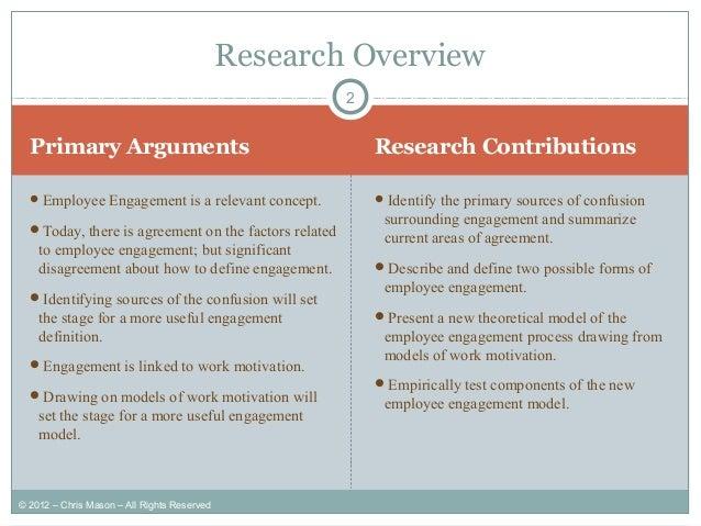 employee engagement dissertation ideas