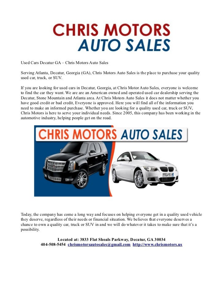 chris motors auto sales