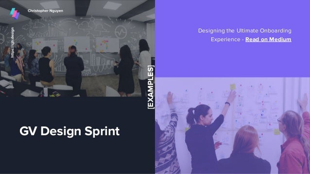 GV Design Sprint Designing the Ultimate Onboarding Experience - Read on Medium 22 [EXAMPLES]