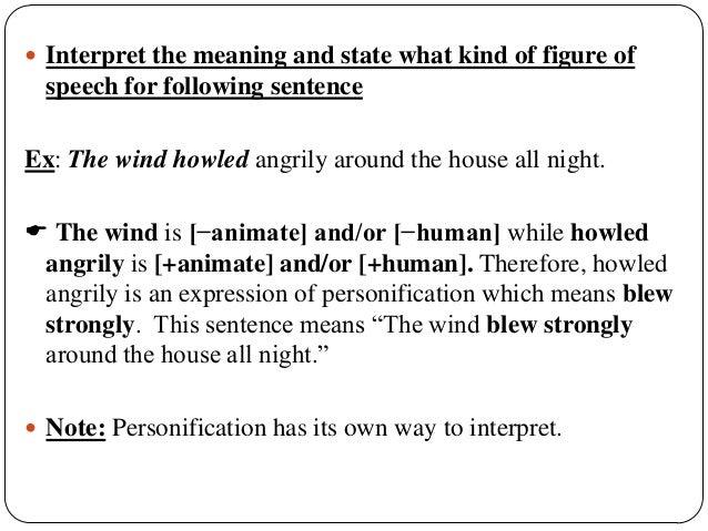 Figures of speech (Semantics)