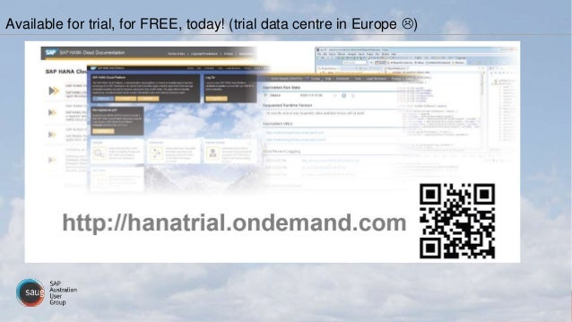 Available for trial, for FREE, today! (trial data centre in Europe )