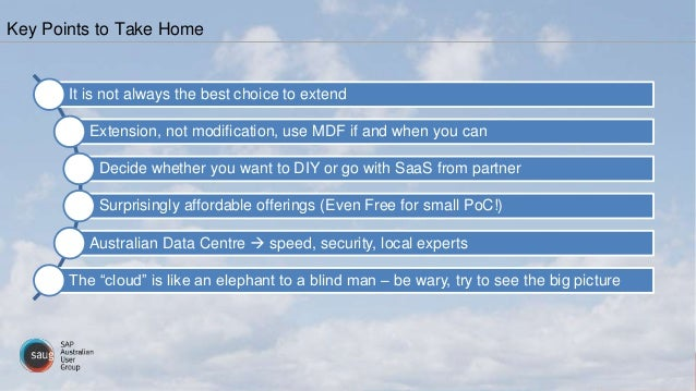Key Points to Take Home It is not always the best choice to extend Extension, not modification, use MDF if and when you ca...