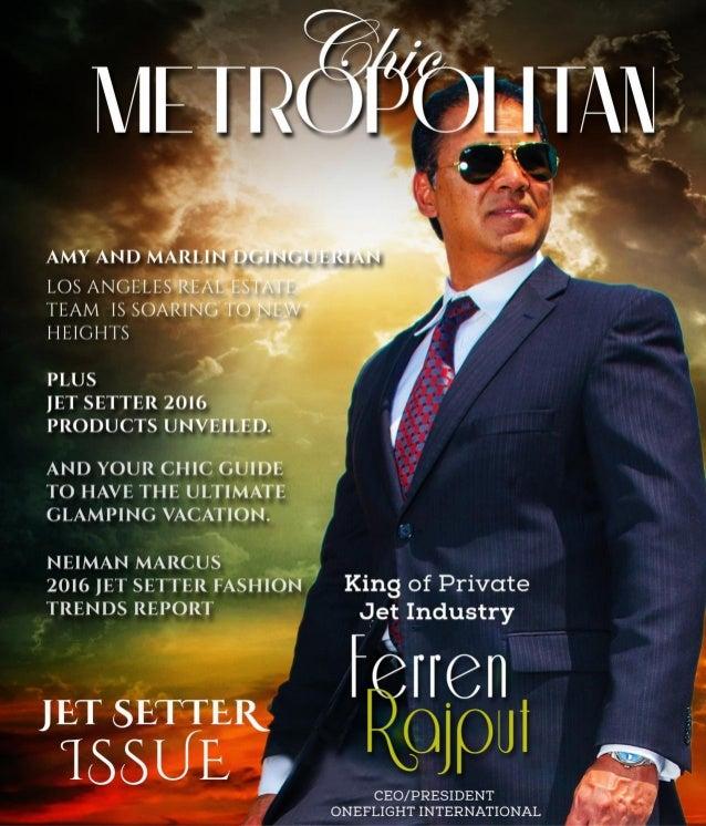 Chris Rojas Chic Metropolitan - Jet Setter Issue
