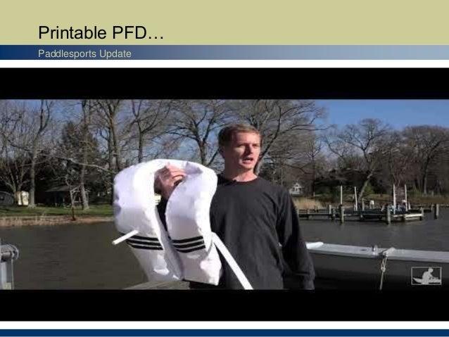 Printable PFD… Paddlesports Update
